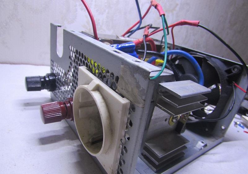 Схема преобразователя с 12 на 220 вольт