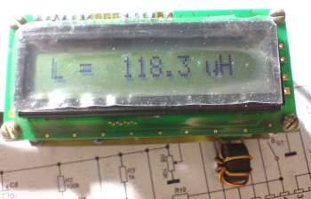 схема измерителя емкости