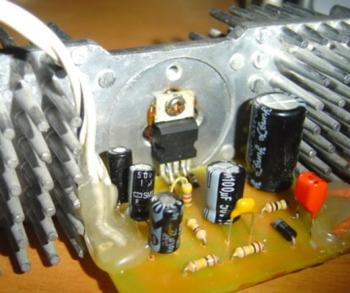 усилитель звука на микросхеме tda 2003