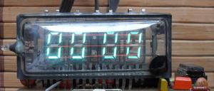 электронные часы на микросхеме