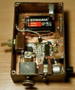 металлоискатель на микро