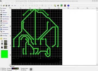 программа для нарисования печатных плат LAY