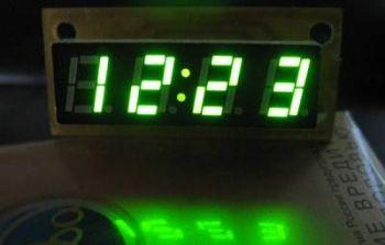 схема электронных часов