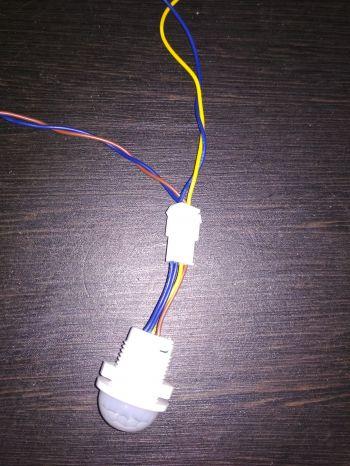 Подключение датчика движения 4 контакта своими руками схема